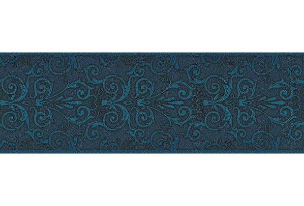 Versace klassische Bordüre Herald, blau