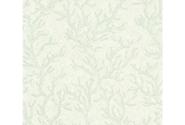 Versace Mustertapete Les Etoiles de la Mer Vliestapete grün metallic 10,05 m x 0,70 m