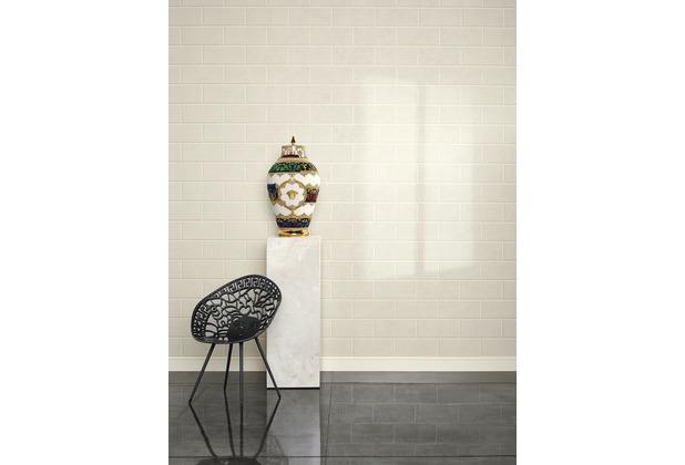 Versace Mustertapete Via Gesù Vliestapete beige creme 10,05 m x 0,70 m