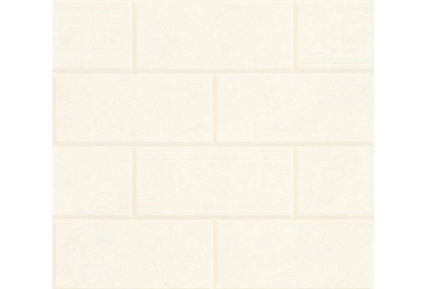 Versace Mustertapete Via Gesù Vliestapete creme weiß 10,05 m x 0,70 m