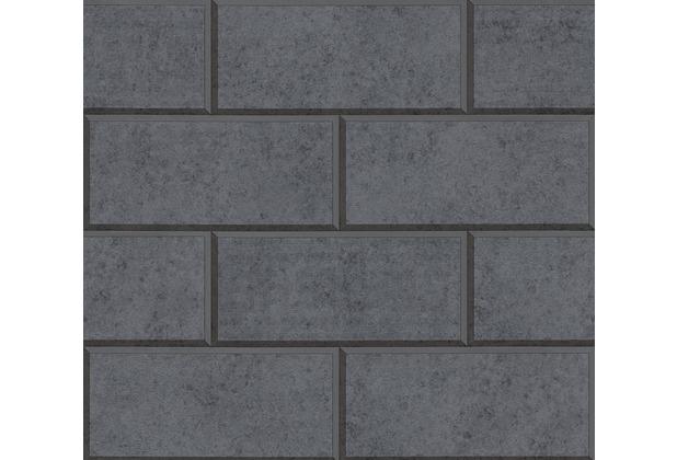 Versace Mustertapete Via Gesù Vliestapete grau 10,05 m x 0,70 m 343226