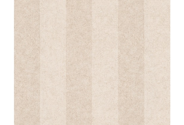 Versace Streifentapete Pompei, Tapete, beige, metallic