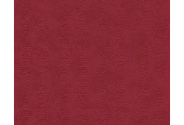 Versace Uni-, Strukturtapete Barocco and Stripes, Tapete, rot