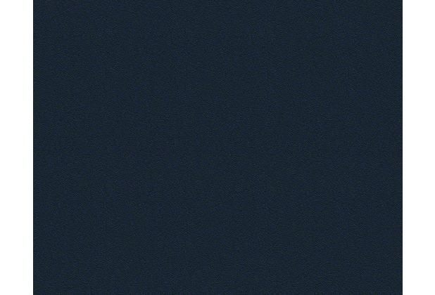 Versace Uni-, Strukturtapete Herald, Tapete, blau