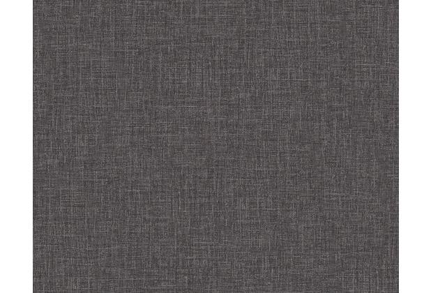 Versace Unitapete Baroque & Roll, Tapete, grau, metallic, schwarz