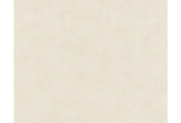 Versace Unitapete Creamy Barocco, Tapete, creme, metallic, weiß