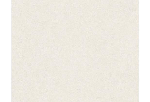 Versace Unitapete Pompei, Tapete, metallic, weiß