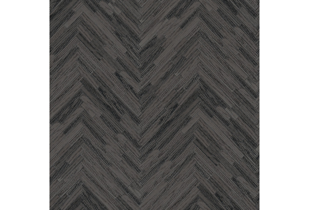 Versace Vliestapete Eterno schwarz 10,05 m x 0,70 m 370514