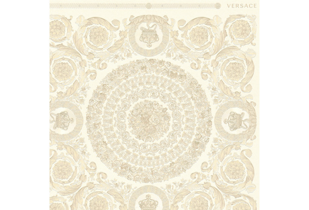 Versace Vliestapete Heritage metallic beige creme 10,05 m x 0,70 m