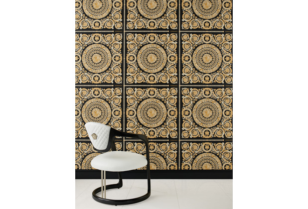 Versace Vliestapete Heritage metallic creme beige 10,05 m x 0,70 m