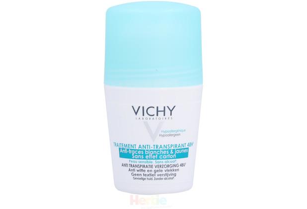 Vichy 48Hr Anti-Perspirant Roll-On Sensitive Skin - Alcohol-Free 50 ml