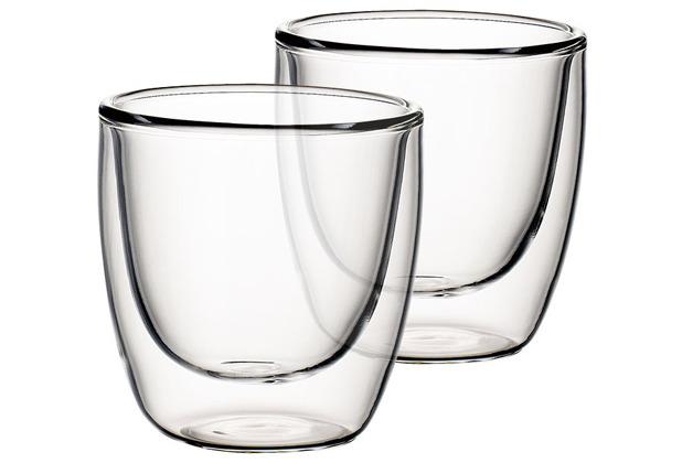 Villeroy & Boch Artesano Hot&Cold Beverages Becher Größe S Set 2 tlg. klar