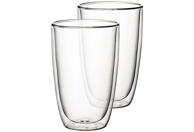 Villeroy & Boch Artesano Hot&Cold Beverages Becher Größe XL Set 2 tlg. klar