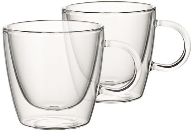 Villeroy & Boch Artesano Hot&Cold Beverages Tasse Größe M Set 2 tlg. klar
