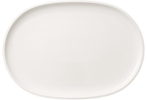 Villeroy & Boch Artesano Original Fischteller oval weiß
