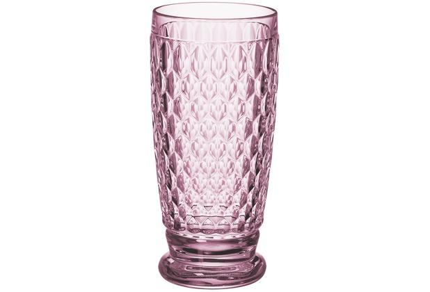 Villeroy & Boch Boston coloured Longdrinkglas rose rosa