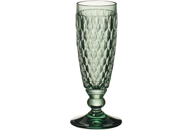 Villeroy & Boch Boston coloured Sektglas green grün