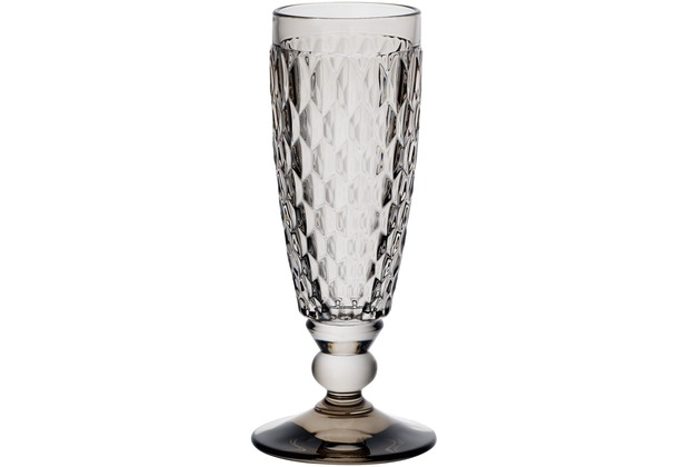 Villeroy & Boch Boston coloured Sektglas grau