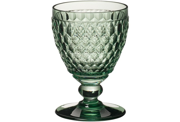 Villeroy & Boch Boston coloured Weissweinglas green grün