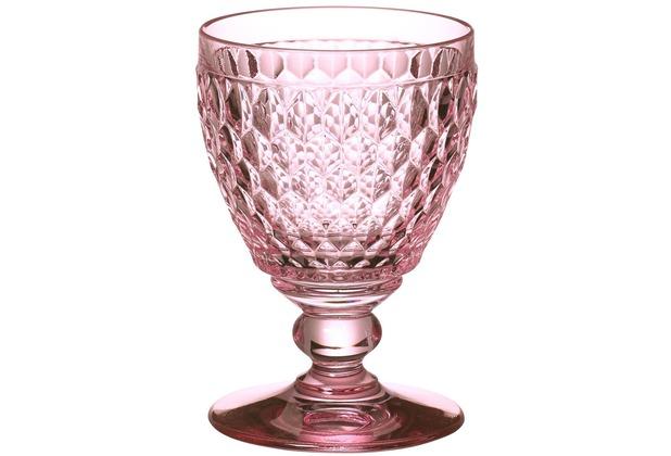 Villeroy & Boch Boston coloured Weissweinglas rose rosa