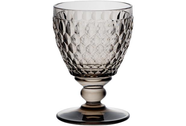 Villeroy & Boch Boston coloured Weißweinglas smoke grau