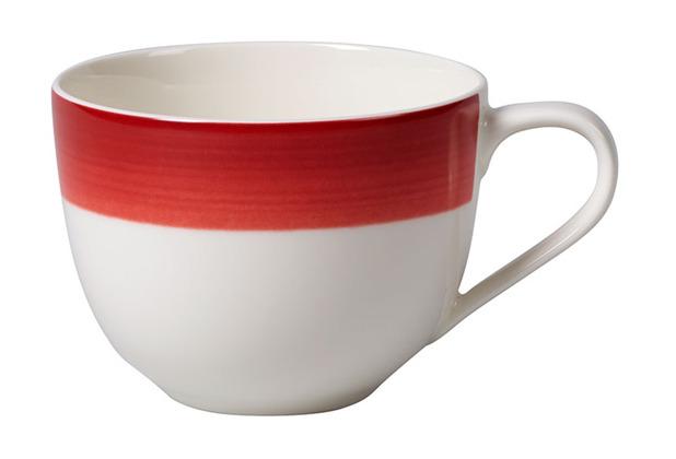 Villeroy & Boch Colourful Life Deep Red Kaffeeobertasse rot