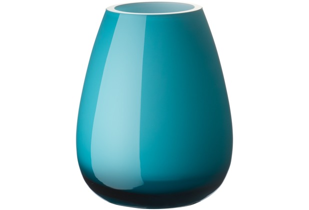 Villeroy & Boch Drop Mini Vase caribbean sea blau