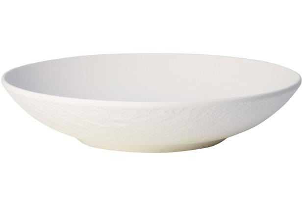 Villeroy & Boch Manufacture Rock blanc Schale flach weiß