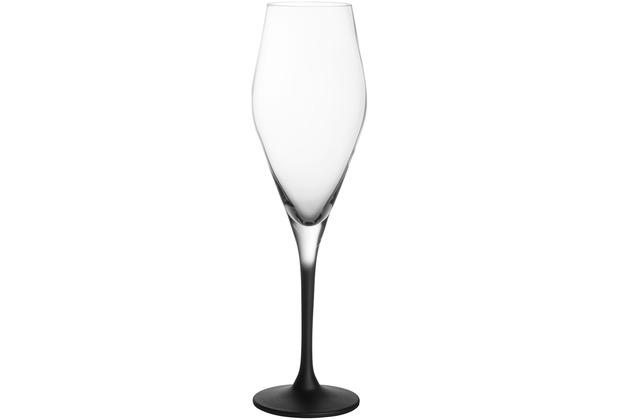 Villeroy & Boch Manufacture Rock Champagnerkelch, Set 4tlg. schwarz