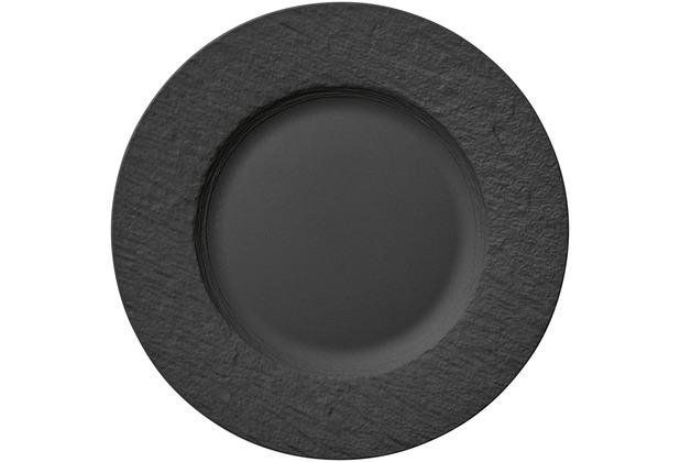 Villeroy & Boch Manufacture Rock Speiseteller schwarz,grau
