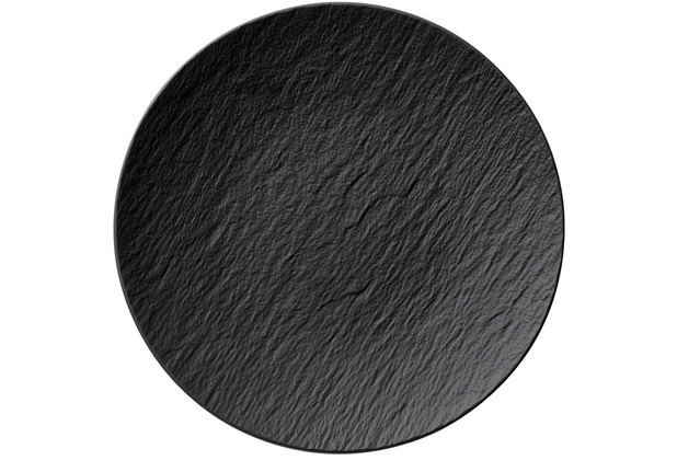 Villeroy & Boch Manufacture Rock Universalteller Coupe schwarz,grau