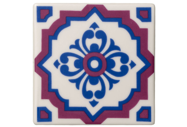 Villeroy & Boch Table Accessories Untersetzer Set 2tlg. Indigo Caro blau,rot,bunt