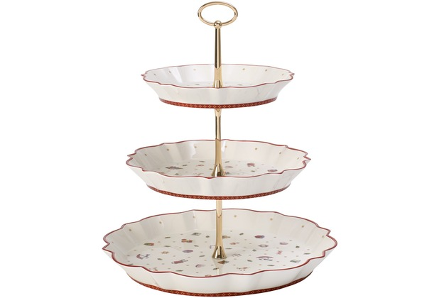 Villeroy & Boch Toy\'s Delight Etagere weiß,rot