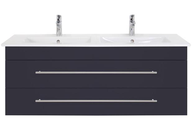 Villeroy & Boch Venticello 130 cm Doppel anthrazit seidenglanz