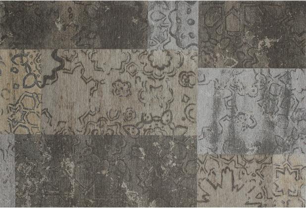 Kelii Patchwork-Teppich Colorado beige 60 cm x 90 cm