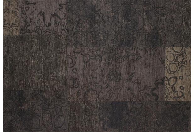 Kelii Patchwork-Teppich Colorado black 60 cm x 90 cm