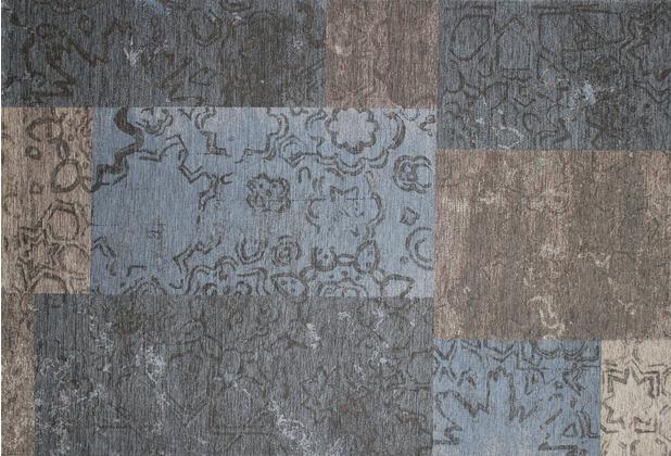 Kelii Patchwork-Teppich Colorado taupe 60 cm x 90 cm