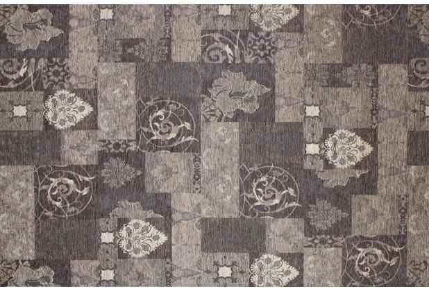 Kelii Patchwork-Teppich Patagonia taupe 60 cm x 90 cm