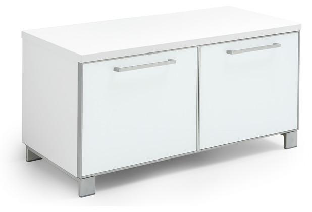 Voss Möbel Garderobenbank Santina/Ventina Lack weiß