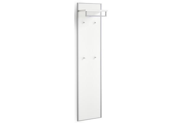 Voss Möbel Garderobenpaneel Limana Lack weiß 27x42x183 cm
