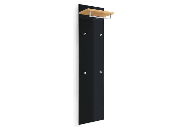 Voss Möbel Garderobenpaneel Santina/Ventina Eiche anthrazit 27x42x170 cm