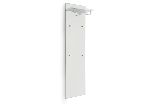 Voss Möbel Garderobenpaneel Santina/Ventina Lack weiß 334-41