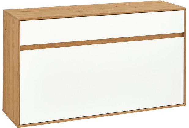 Voss Möbel Hängeschuhschrank V 100 Eiche weiß