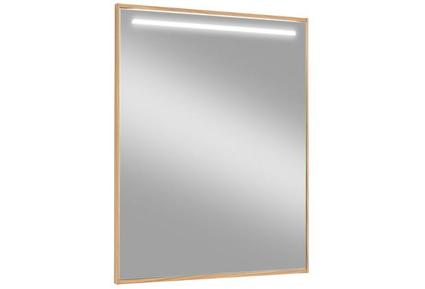 Voss Möbel Spiegel LED V 100 Eiche Breite: 70 cm