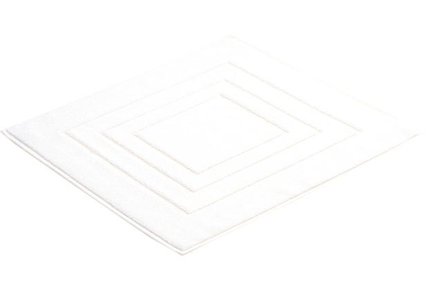 Vossen Badeteppich Feeling weiß 60 x 60 cm