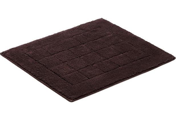 Vossen Badeteppich Exclusive dark brown 55 x 65 cm