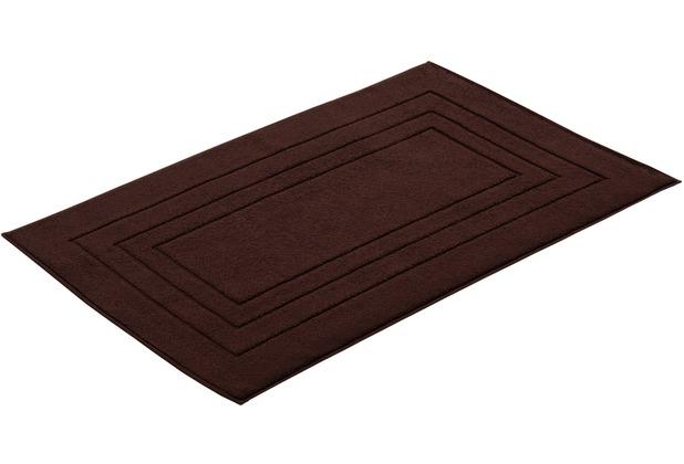 """Vossen Badeteppich \""""Vossen Feeling\"""" dark brown 60 x 100 cm"""
