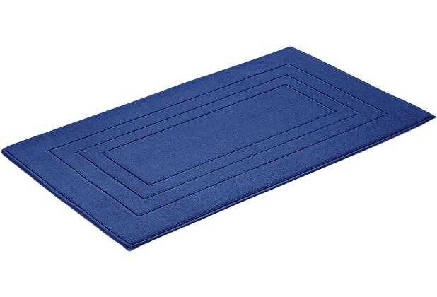 Vossen Badeteppich Feeling marine blau 60 x 100 cm