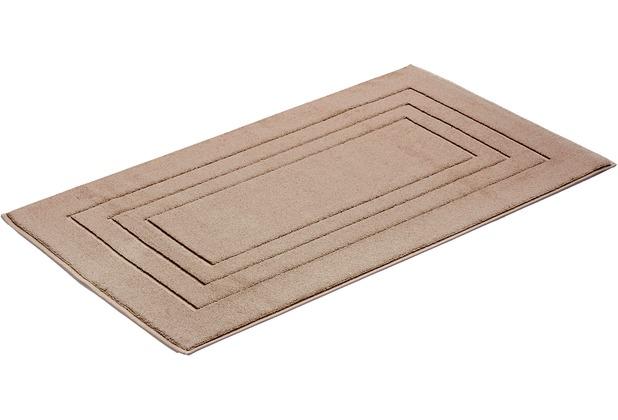 Vossen Badeteppich Feeling nut brown 60 x 100 cm