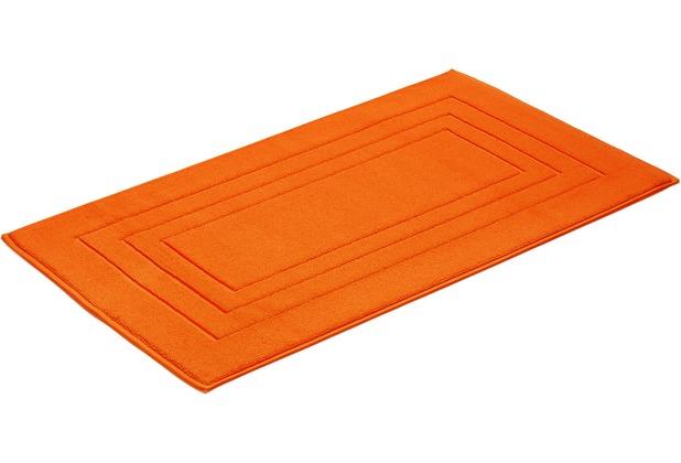 Vossen Badeteppich Feeling orange 60 x 100 cm